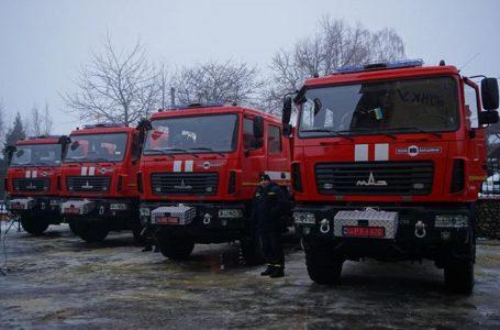 Рятувальники Тернопільщини отримали сучасні пожежні автомобілі (Відео)